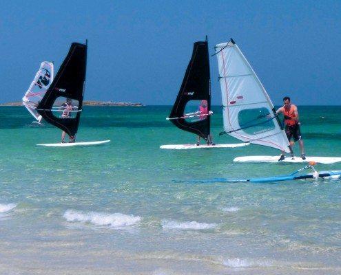 Corso windsurf Torre Guaceto