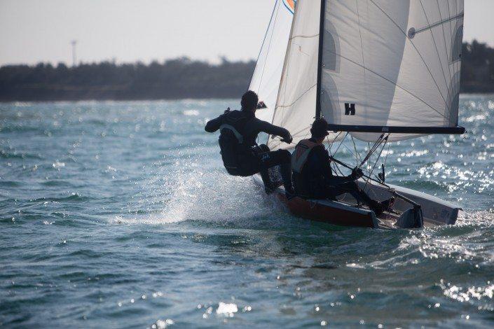 Centro Velico Torre Guaceto - corsi di vela - stage di deriva avanzata - skiff