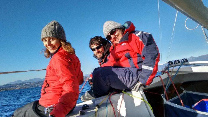 Campionato invernale dolphin sul garda