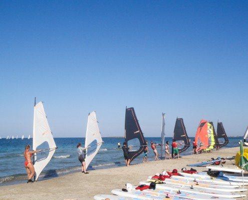 Corso windsurf Base