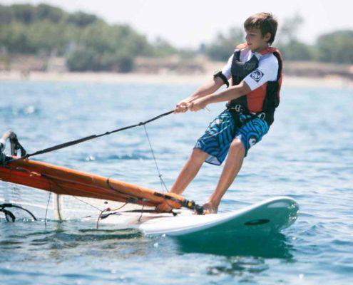 Centro Velico Torre Guaceto, corsi di vela e windsurf per ragazzi - foto di Paolo Simonetti
